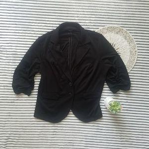 Torrid Scrunch Sleeve Blazer Style Jacket 2